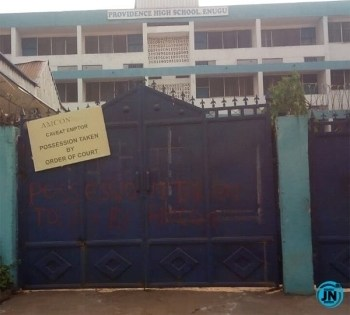 AMCON detains 344 Enugu female students, seals school